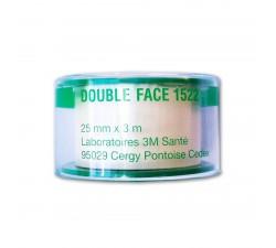 Ruban adhésif 3M Santé Double Face (25 mm x 3m)  Complément capillaire